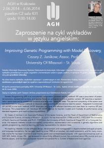 Plakat C. Janikow