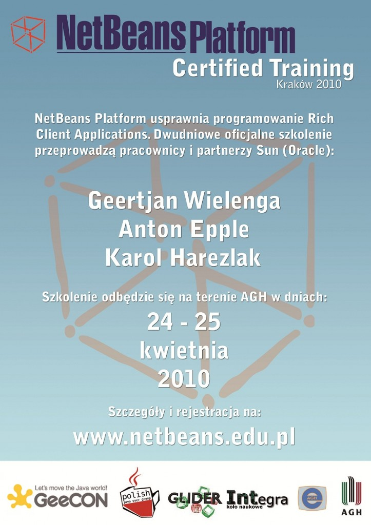 Szkolenie NetBeans 2010 AGH Kraków