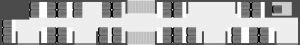 Przykładowy schemat pojazdu komunikacji miejskiej. Na rysunku widoczny autobus Solaris Urbino III 18